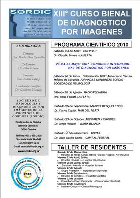 Afiche del XIIIº Curso Bienal
