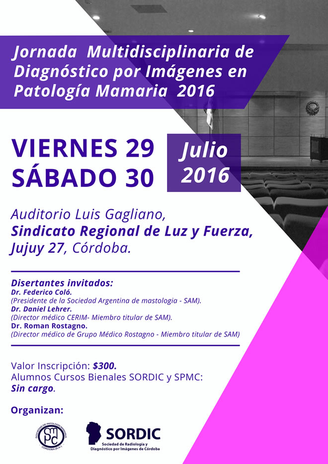 Jornada Patología Mamaria