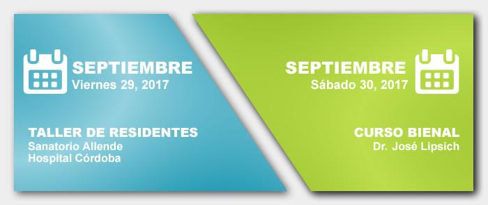 Taller de Residentes y Curso Bienal - Septiembre 2017