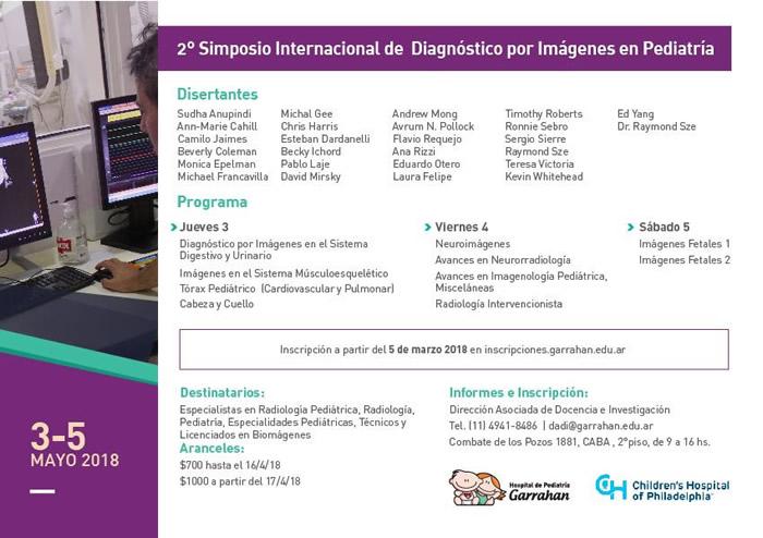 2º Simposio Internacional de Diagnóstico por Imágenes en Pediatría